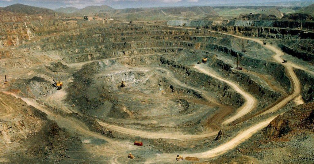 Rare earth mining - Energy Iceberg