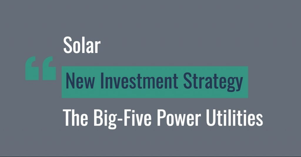 Solar New Investment Strategy - Energy Iceberg